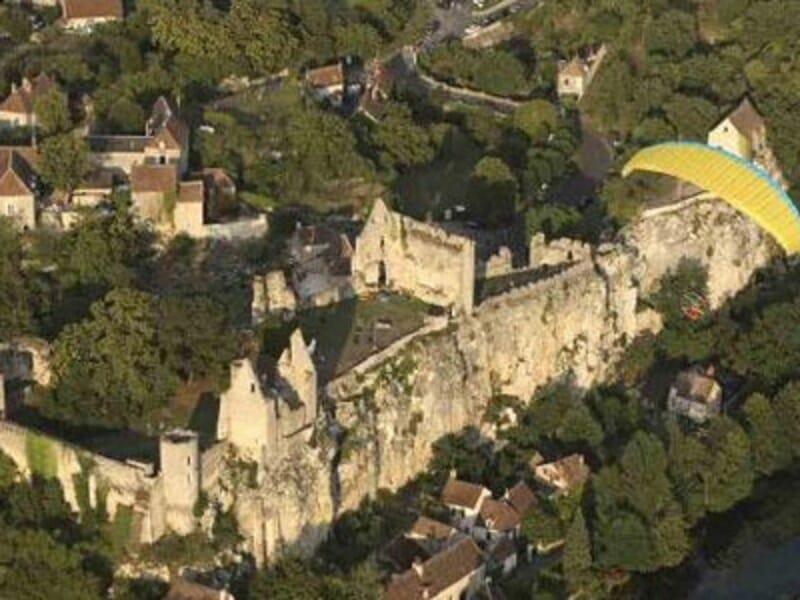 Baptême ULM Paramoteur à Poitiers - Survol de la Vienne